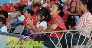 Diversas opciones para todo el público, en la Feria Yucatán 2018