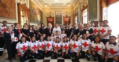 El Gobernador Mauricio Vila Dosal pone en marcha la Colecta Anual de la Cruz Roja en Yucatán.