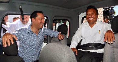 El Gobernador Mauricio Vila Dosal pone en marcha el programa de transporte gratuito para personas con discapacidad motriz