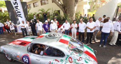 El Gobernador Mauricio Vila Dosal inaugura el Rally Maya México 2019