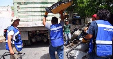 Campaña de descacharrización rebasa las 800 toneladas recolectadas