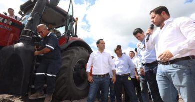 Programa de Mecanización de Suelos Agropecuarios avanza a buen ritmo