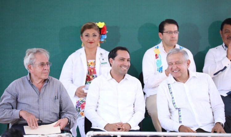 El Gobernador Mauricio Vila Dosal gestiona ante el Presidente Andrés Manuel López Obrador más recursos humanos y materiales para la salud en Yucatán