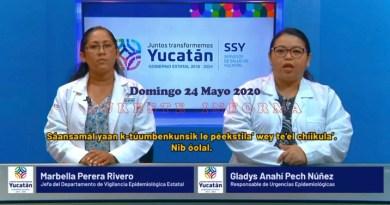 DOMINGO CON SEIS MUERTES MÁS Y 68 NUEVOS POSITIVOS AL COVID-19: En Yucatán ya son 151 decesos y 1500 casos positivos al Coronavirus.