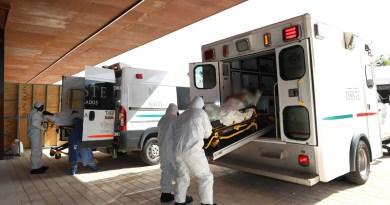 SSY reporta este martes el traslado de 9 pacientes más al hospital temporal del Centro de Convenciones Siglo XXI