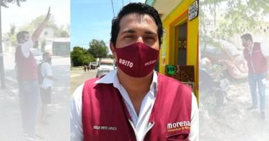"""""""Hay que seguir impulsando la cuarta transformación, hay que seguir haciendo equipo con ya saben quién"""": Oscar Brito Zapata"""