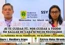 #ReporteCOVID19 YUCATÁN: HOY MIÉRCOLES SSY REPORTA 31,523 RECUPERADOS DEL CORONAVIRUS, 160 HOSPITALIZADOS, 84 NUEVOS POSITIVOS Y 10 DECESOS