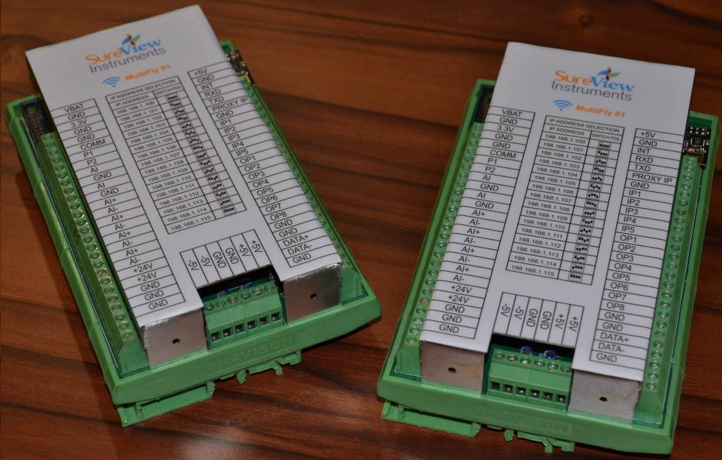 wireless data acquisition instrument - with WiFi