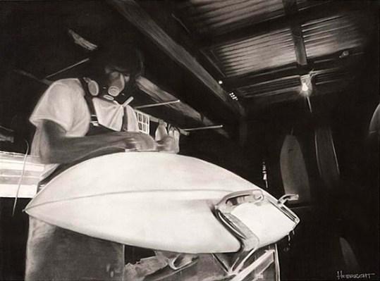 Производство серфборда | школа серфинга Surf-Burg