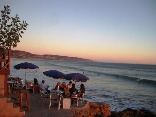 Кафе у спота hash point Марокко