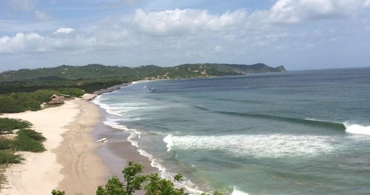 Surf trip Popoyo - Vue de Magnific rock Jiquelite