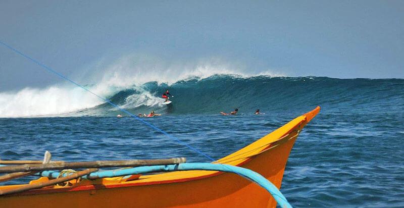 Сёрфинг на Филиппинах. Спот Стимпис