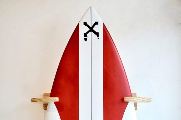 Vertical Wood Surf Rack