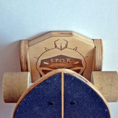 Skateboard Rack - The Gladiator