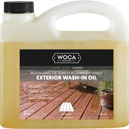 WOCA Exterior Wash-In Oil