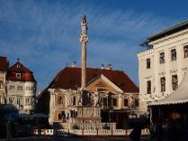 Győr downtown. Photo by Namesti VitVit.