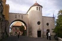 Veszprém, Castle gate. Photo by Wikicommons.