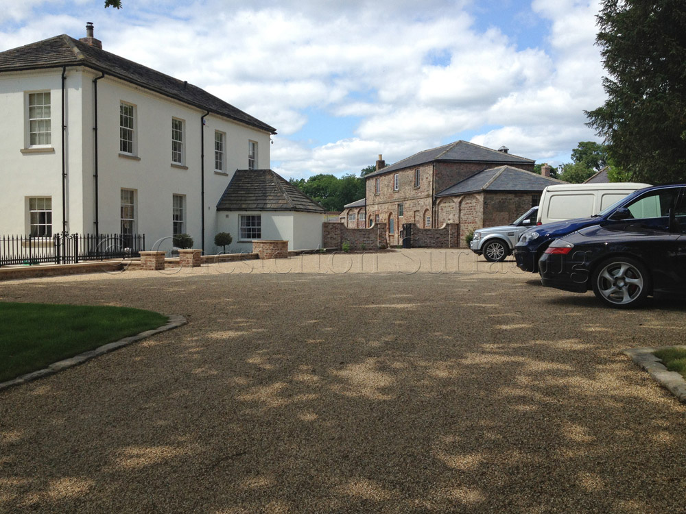 Surface Dressing Large Driveways