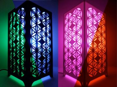 Flower of Life Lamp