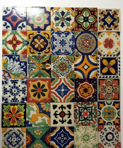 Handpainted Mexcan Tiles
