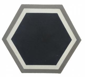 Hexagon Encaustic