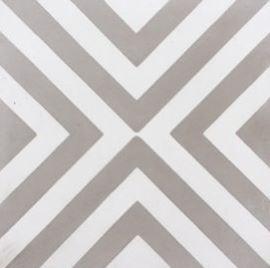 Columbia Grey Cement Encaustic Tile