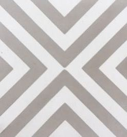 Columbia Grey Cement Encaustic Tile
