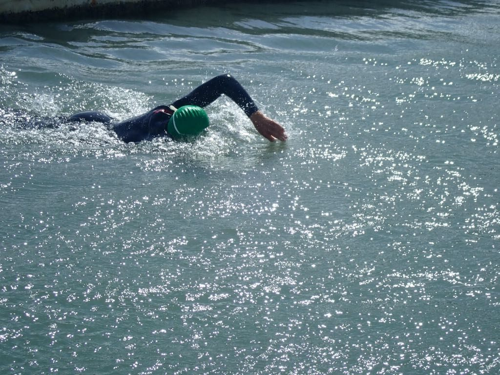 open water swimming 100km
