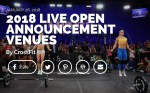 WOD 1.29.18 Monday – link to live Open Announcement