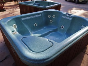 We refurbished and installed this spa saving our happy customers money