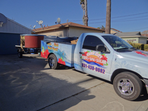 Surf City Pool Spa and Solar Delivering Spa in Aptos