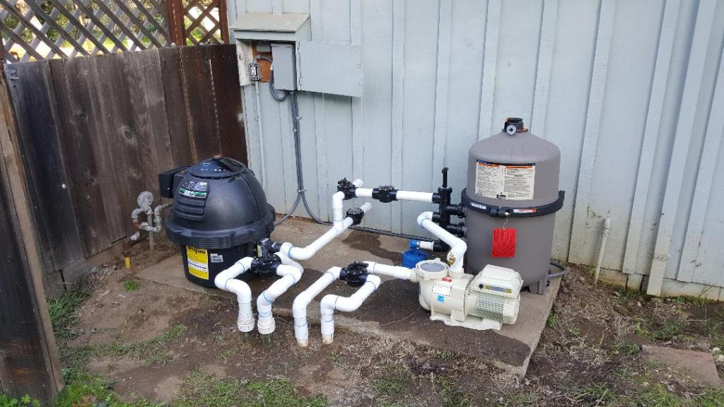 pool filtration equipment after