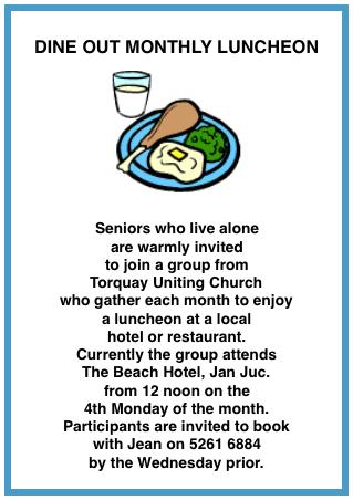 Toruay Dine Out 1
