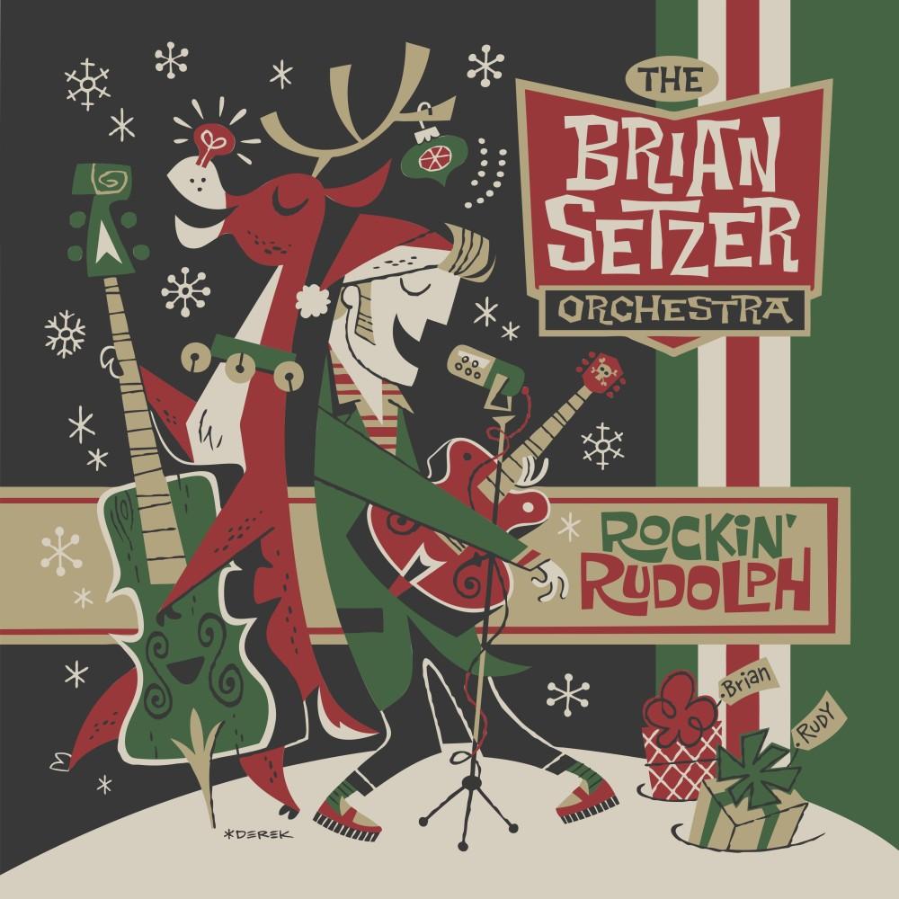 The Brian Setzer Orchestras NEW Christmas Album Rockin