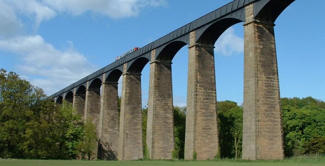 O Aqueduto de Pontcysyllte © WikiCommons-Akke