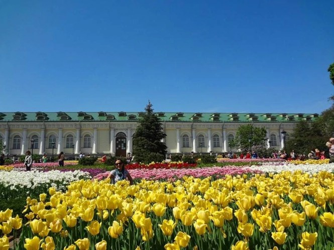 Primavera na Rússia