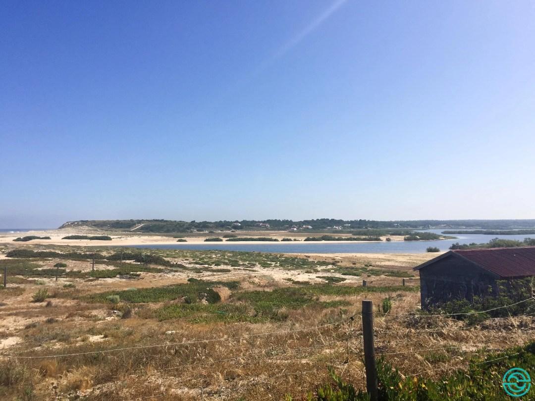 Beaches in Alentejo Melides