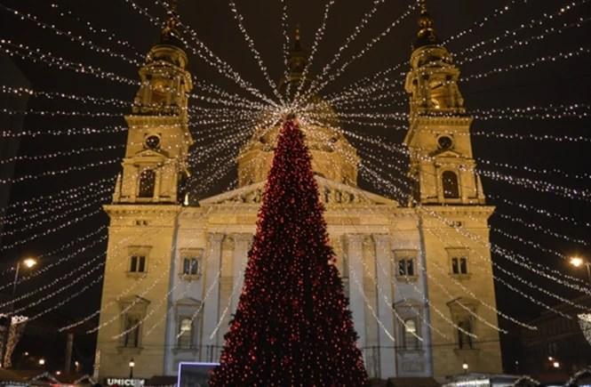 Christmas Market in Budapest