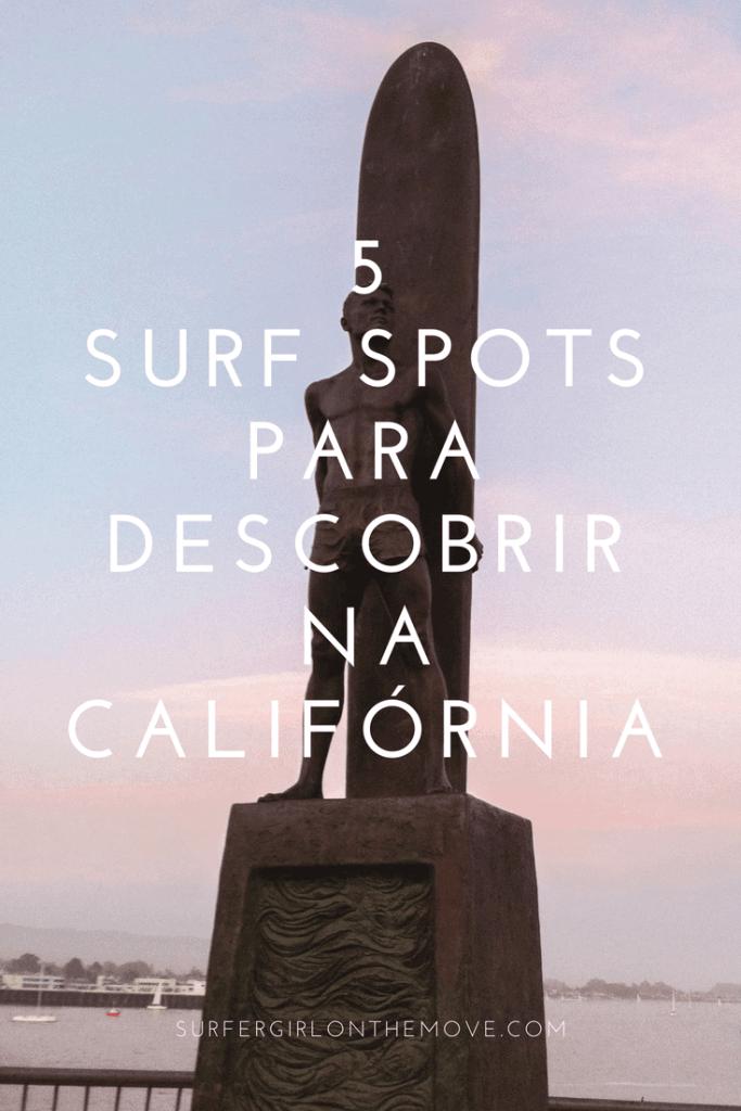 Surf na Califórnia Pinterest