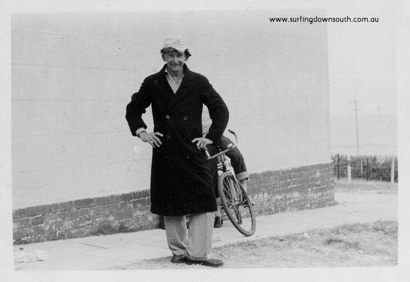 1955 City Beach John Budge surfer photograher - Ray Geary
