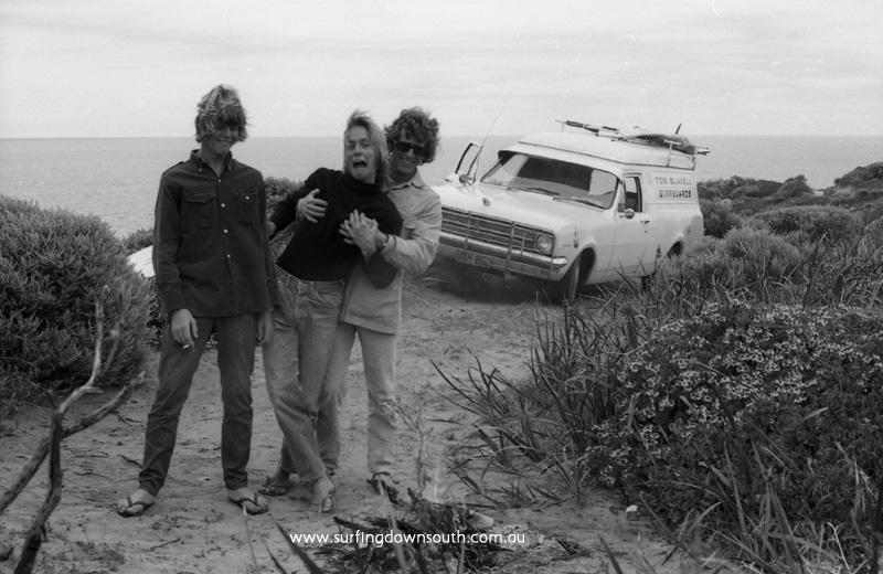 1972 Old Bears track Greg 'Egory' McDonald, Bruce Elliot & Tom Blaxell - J McFarlane img625