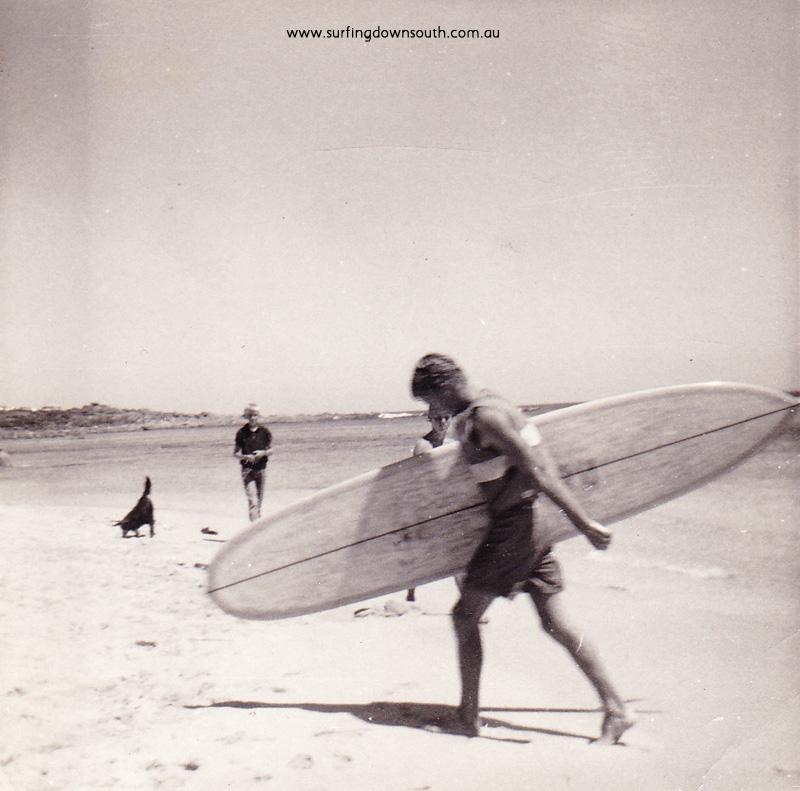 1968 Yalls Midget Farrelly 1st Pintail surfboard WA - Sally Jones IMG_0001
