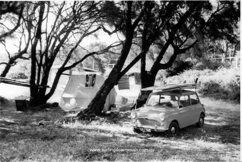 1966 Jeff & Errol Considine's  camp - Prevelly Park MR
