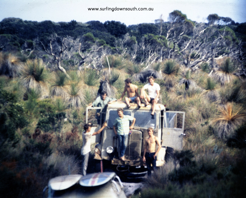 1963 Windy Harbour bush bashing - Tom Collins img238
