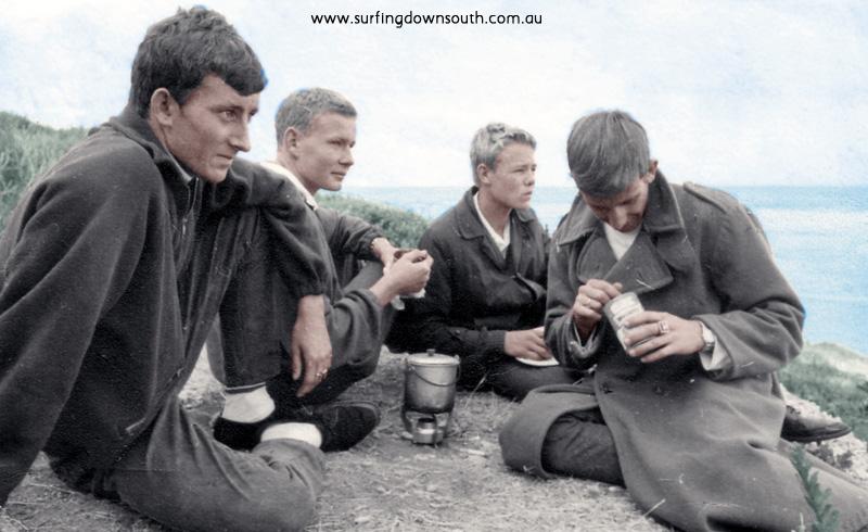 1964 Yalls State Titles Graham McManus, Ean Craigie, Graeme Butler & Jeff Harper - West pic