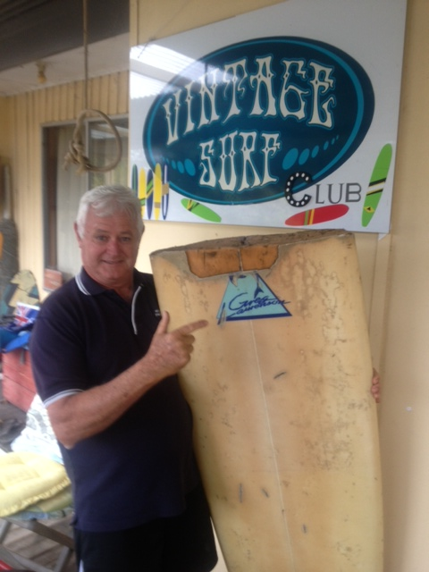 2014 Craig Brent-White age 66 with broken board from 1st Yal Mal- Loz  photo