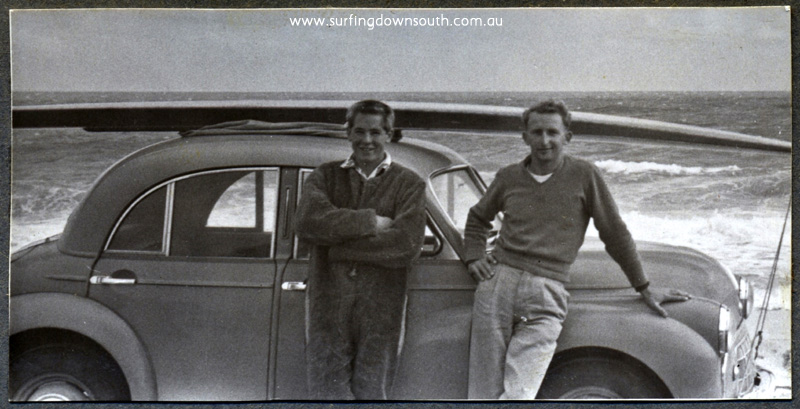 1956 City Beach Neil Chapple & John Budge with Budgie's Morris Minor - John Budge  img358 (1)