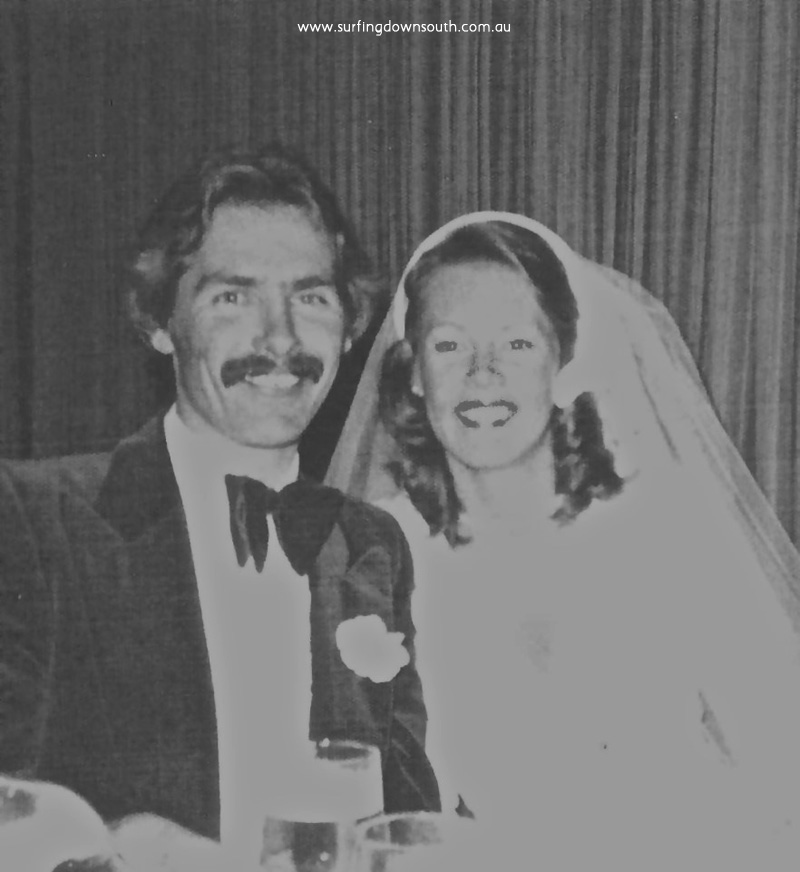 1975 Perth wedding Paul Jacobsen & Helen McAllister - M Leckie pic