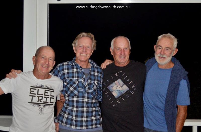 2015 Reunion Bob, Micko, Bruce & Mac. Bruce pic 002