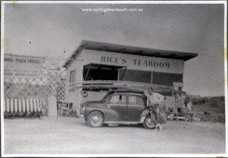 1950s Mandurah Miami Rice's Tea Rooms - John Budge pic img358